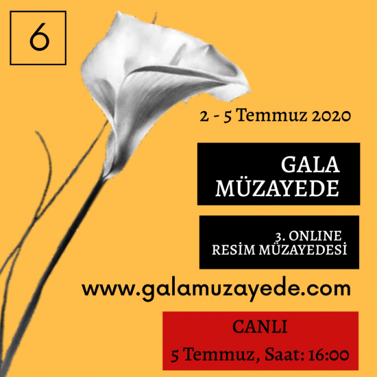 3. Online Resim Müzayedesi