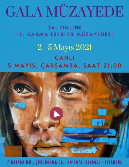 36. Online 12. Karma Eserler Müzayedesi